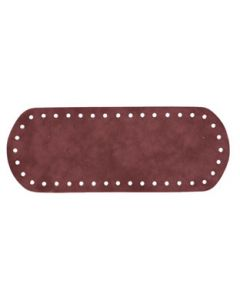 Stafil Handbag Bottom 21x8 cm, faux suede