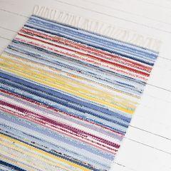 Free pattern: Aino Rag Rug