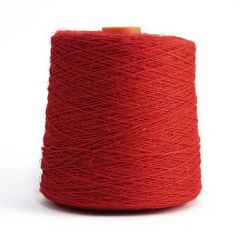 Line linen yarn Nel 4, red