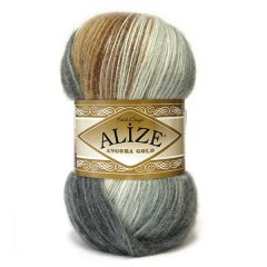 Alize angora gold batik knitting yarn