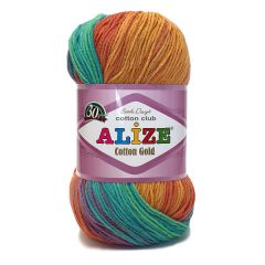 Alize cotton gold batik cotton yarn