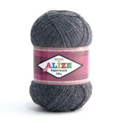 Alize Superwash -sukkalanka yksivärinen