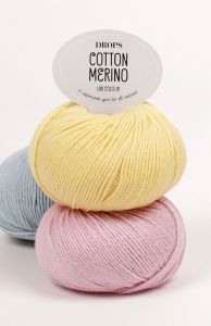 Drops cotton merino yarn