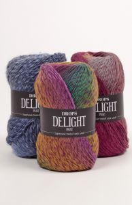 Drops delight superwash sock yarn
