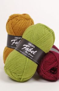 Drops fabel uni colour sockyarn