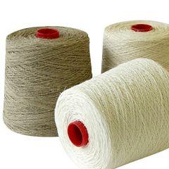 esito line linen yarn half wet spun nel 4