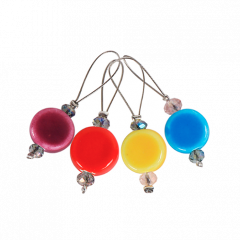 KnitPro Zooni maskmarkörer, 12 st