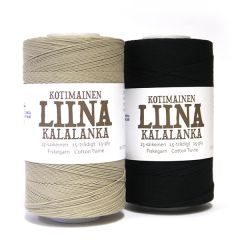 liina cotton twine 15-ply roll 500 g