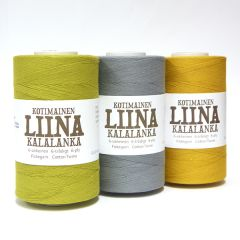 liina cotton twine 18-ply 500 g colors