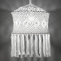 Free Pattern Macrame Lamp Shade