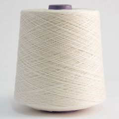 Mercerised cotton yarn 16/3, unbleached