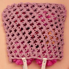 Molla mills knot stitch bag