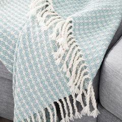 Free pattern mint blanket