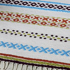 Ohje: Kudottu Kirjopolku-matto