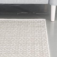 Ohje: Kudottu Ristinolla-matto