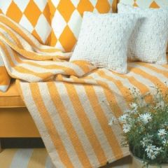Ohje: Kudottu Selina-sängynpeitto