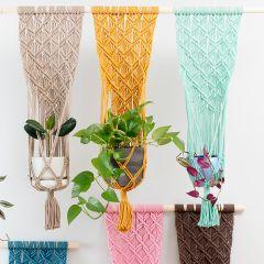 Free pattern: Ristikki Wall Plant Hanger