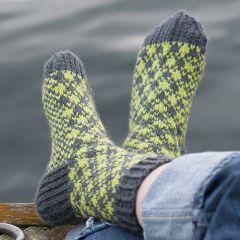 Ohje: Ruutu-sukat
