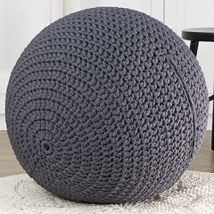 Ohje: Virkattu jumppapallon päällinen