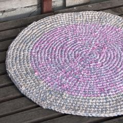 Free pattern crochet rag rug