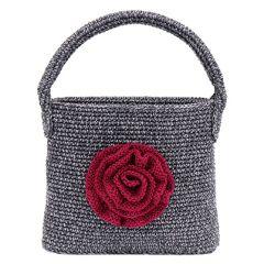 Ohje: Virkattu Ruusukelaukku