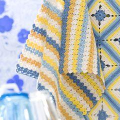 Gratis mönster: Virkade handdukar