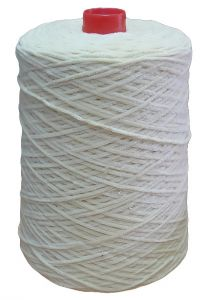 Chenille yarn, off-white