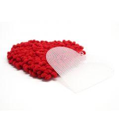 Muoviverkkopala, sydän
