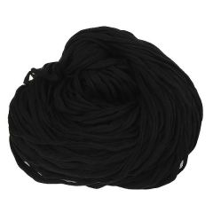 T-shirt yarn (cotton tricot), 5 kg assortment-15 Black