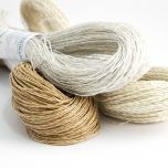 Thin paper yarn with glitter 100 g