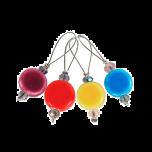 KnitPro-silmukkamerkit Zooni, 12 kpl