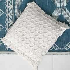 Dawn macramé cushion