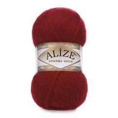 Alize Angora Gold-339 Dark red