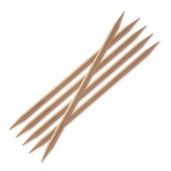 Knitpro Basix Birch, double pointed needles