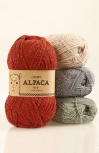 Drops alpaca mix yarn