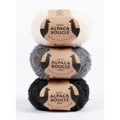 Drops alpaca boucle yarn