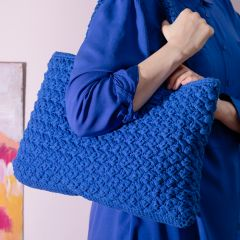 Free pattern: Blue Bag