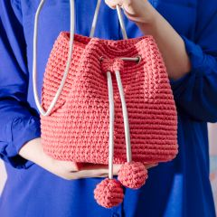 Free pattern: Kinchaku Bag