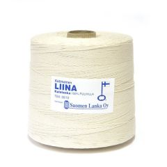Liina Cotton Twine 6-ply, 1,8 kg-1. Unbleached