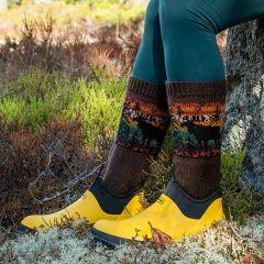 Kruunupää-sukat, ilmainen ohje