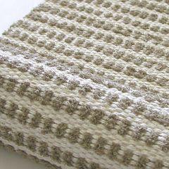 Kudontaohje kudottu pellavainen matto Sipsu