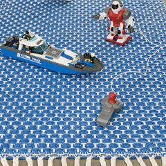 Ohje: Kudottu Välke-matto