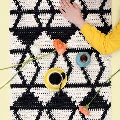 Free pattern: Molla Mills Kurikka Rug