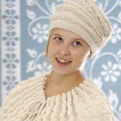 Neuleohje neulottu hattu, keeppi ja kynsikkäät Vekki