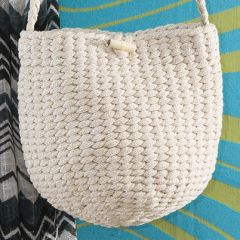 Ohje: Punottu pikkulaukku