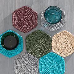 Ohje: Raffia-lasinaluset