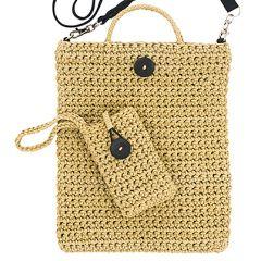 Ohje: Virkattu iPad-laukku ja kännykkäkotelo