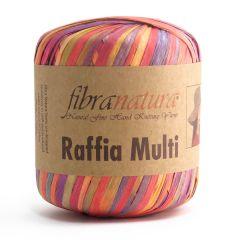 Fibra Natura Raffia paperinauha moniväri