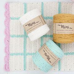 Pattern Molla Mills crochet beach rug