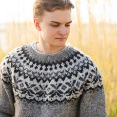 Siiveniskuja islantilainen villapaita ohje